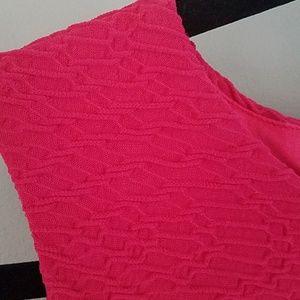 Calvin Klein Dresses - Calvin Klein pink stretch shift dress